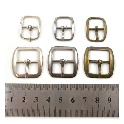 Metal Buckles Watch Strap Webbing Shoe Belt Bag Craft Project Repair Replacement • 1.89£