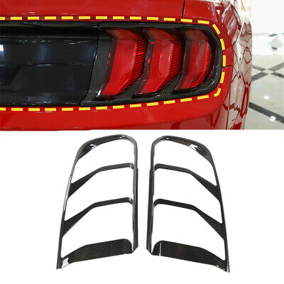 $49.99 • Buy Car Rear Taillight Decoration Tail Lamp Cover For Ford Mustang 2018+ Accessories