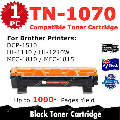 AU11 • Buy 1x Non-OEM Toner TN1070 TN 1070 For Brother HL1110 MFC1810 HL1210W DCP1510 MFC