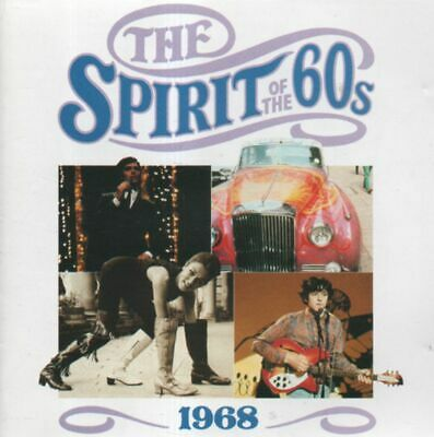 TIME LIFE SPIRIT OF THE 60's CD 1968 COCKER Shondells BEE GEES MAC MOVE SCAFFOLD • 5.61£