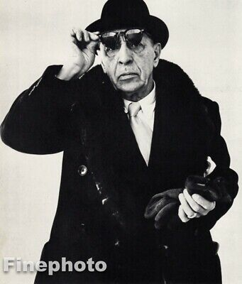 $74.22 • Buy 1958 Igor Stravinsky By Richard Avedon Music Composer Piano Vintage Photo Art