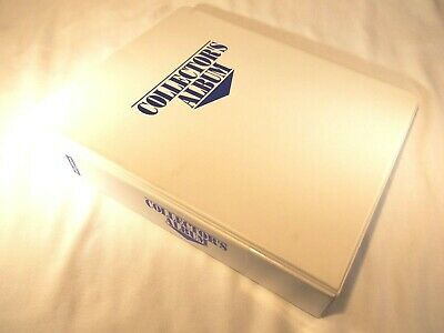 SkyBox Collector's Album Foil Generic 3-ring Binder With 24 9-slot Card Sleeves • 14.53£