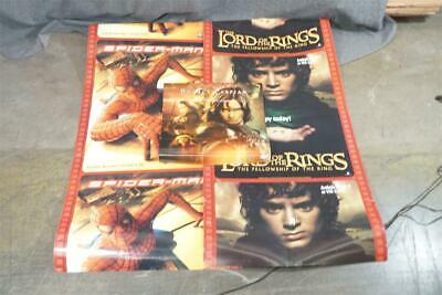$ CDN11.74 • Buy Lot Of 3 Movie Posters Chronicles Of Narnia- Lord Of The Rings-Spider-Man