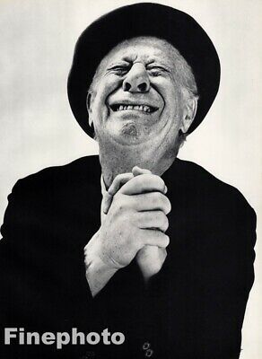 $158.43 • Buy 1956 Bert Lahr By Richard Avedon Actor Comedian Wizard Of Oz Lion Vintage Photo