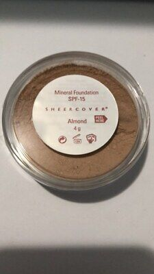 £31.19 • Buy Sheer Cover Mineral Foundation 4g - Almond - Rare And Discontinued