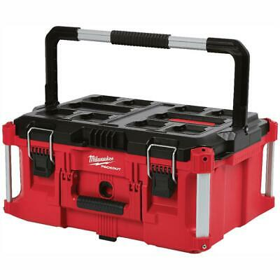 View Details Milwaukee PACKOUT Tool Storage Box 22 In. 100 Lbs. Weight Capacity Portable • 75.99$