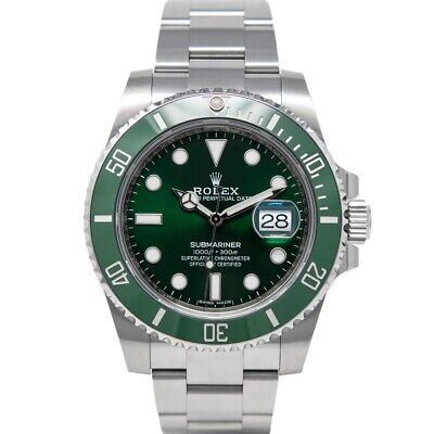 $ CDN21618.04 • Buy Rolex Submariner Green Dial Ceramic Stainless Steel 40mm 116610LV - WATCH CHEST