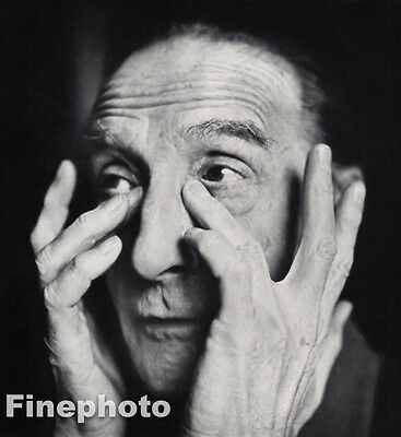 $209.13 • Buy 1958 Vintage MARCEL DUCHAMP Painter Sculptor Writer Artist By RICHARD AVEDON
