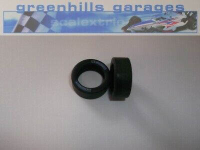 Greenhills Scalextric BMW Mini Countryman Tyre Pair - Used - P5219 • 4.39£