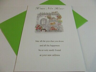 £1.99 • Buy New Home Congratulations Greetings Card.....Happy New Home