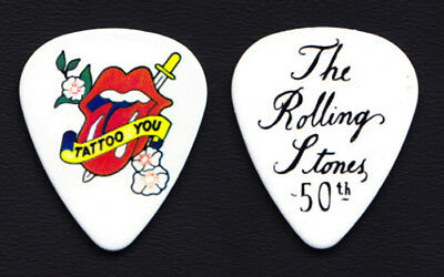 The Rolling Stones 50th Anniversary Tattoo You Promo Guitar Pick #6 - 2012 Grrr! • 7.40£
