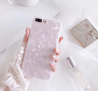 AU5.52 • Buy For IPhone 6 6S 7 And 8 Glossy Bling Marble Shockproof Silicone Gel Cover Case