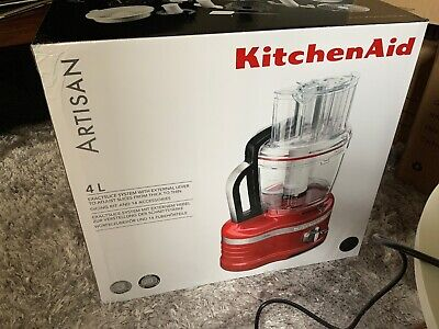 View Details KitchenAid Artisan 4L Food Processor Black  Mint Condition Home Collection Only • 305.00£