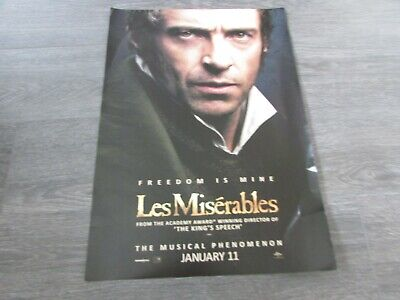 £21.99 • Buy Les Miserables Freedom Is Mine Musical Phenomenon Broadway US Show Poster