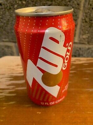 AU255.05 • Buy 7 Up Gold Soda Can Empty Rare (Bottom Opened) (Make An Offer)