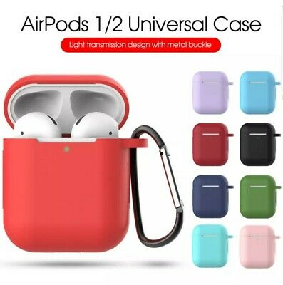 $ CDN5.80 • Buy For Apple AirPods Case Protect Silicone Cover Skin AirPod Earphone Charger Cases