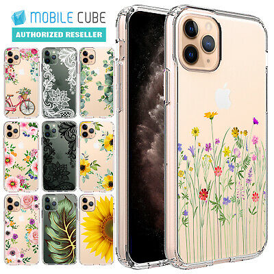 AU12.99 • Buy IPhone 11 Pro Max Case X XS Max XR 8 7 6 Plus Case Flower Flora Lace Clear Cover