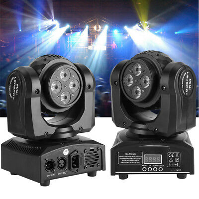 Double Sides 90W Stage Lighting RGBW LED Beam Moving Head DJ Disco Lights Club A • 77.99$