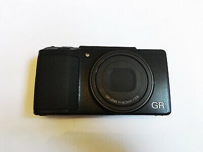 View Details Ricoh GR II 16.2MP Digital Camera - Black   Rarely Used In Excellent Condition  • 380.00£
