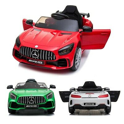Kids Mercedes Benz AMG GTR 12v Licensed Children Electric Ride On Car + Remote • 139.95£
