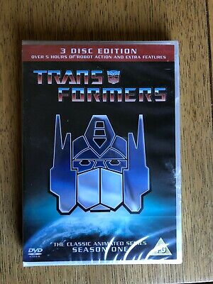 £3.65 • Buy Transformers DVD Season One, The Classic Animated Series (PG) (3 Disc Edition)