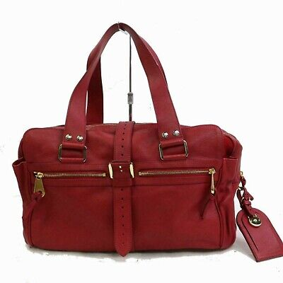 £203.11 • Buy Mulberry Red Leather Mabel 871392