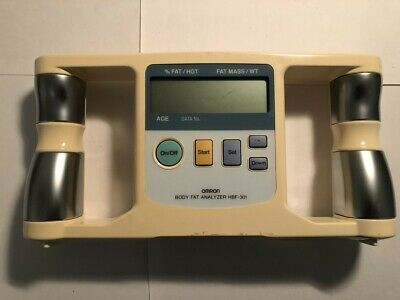 Omron Body Logic Fat % Analyzer HBF-301 Diet Exercise Healthy Track Loss. Works • 25$