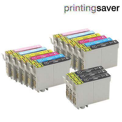 £10.55 • Buy 15 Ink Cartridge Non-oem For Epson Stylus Photo PX830FWD R265 R285 RX560 RX585