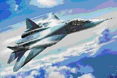 ZVEZDA Sukhoi T-50   Russian Stealth Fighter Scale: 1:72 - 7275 Military Mode... • 20.48£