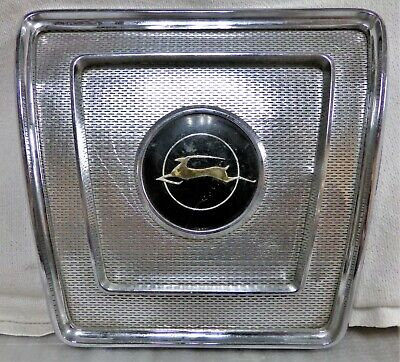 $74.99 • Buy 1962 1963 1964 Chevrolet Impala Rear Speaker Grill Cover Good Condition FreeShip