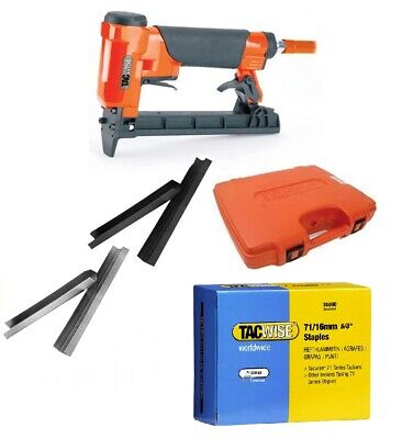 Tacwise Upholstery Air Stapler Pheumatic OR Type 71 Series Staples 4mm - 16mm  • 28.95£