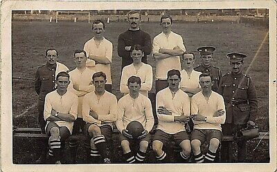 Postcard Sport Football  Military ( West Country ?  )team  Line - Up  - Rp • 6.90£