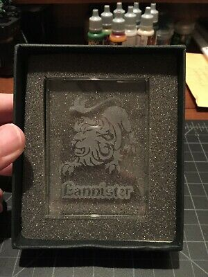 $29.95 • Buy Lannister Glass House Card - Game Of Thrones CCG LCG - FFG Redemption
