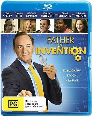 AU8.90 • Buy Father Of Invention - Kevin SPACEY - New Sealed Region B Aust (D512)