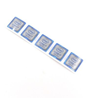 $ CDN34.78 • Buy 100pcs   New Laptop PC Sticker CORE I7 7th Gen Label Badge Decal 18*18mm ST050