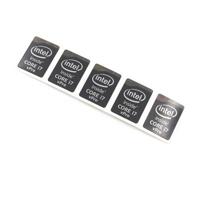 $ CDN6.31 • Buy 20pcs  Inside CORE I7 VPro Laptop PC Label Badge Decal 21*15.5mm Black ST065