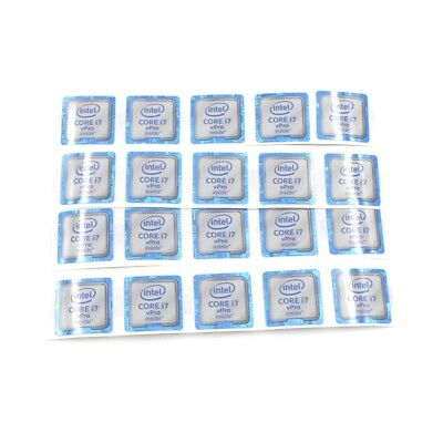 $ CDN7.88 • Buy 20pcs  CORE I7 VPro Inside Label Badge Sticker Decal For Laptop PC 18*18mm ST063