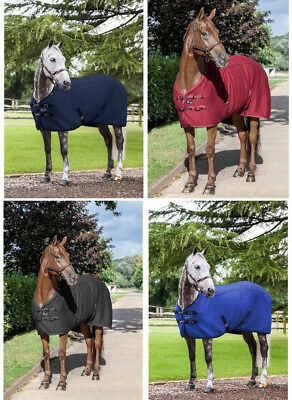 £80.70 • Buy LeMieux THERMO-COOL Carbon Thermatex Cooler Rug Blue/Black/Navy/Burgundy 5'0-7'0