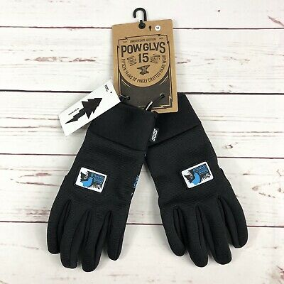$39 • Buy POW Gloves All Day Gloves Water Resistant Adult Size Medium Black New With Tags