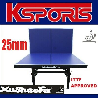AU899.99 • Buy ITTF APPROVED Xu Shao Fa 25mm Championship Table Tennis Ping Pong Table INCLUDES