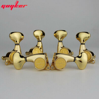 $ CDN36.28 • Buy Guyker 3R3L Guitar Machine Heads 1:21 Sealed Tuning Key Pegs Tuners Set Gold