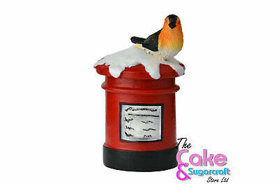 Post Box Cake Topper Decoration Xmas Christmas British Cute Free Delivery • 5.99£