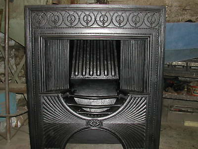 Victorian Cast Iron Fireplace By Thomas Elsley  Hob Register Grate • 3,000£