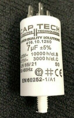 AU18.90 • Buy 7uF START RUN MOTOR CAPACITOR MADE IN EUROPE
