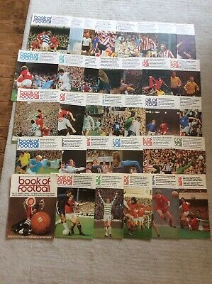 £80 • Buy Marshall Cavendish Book Of Football MAGAZINES, Issues 1 To 30, 32 To 34 & 37