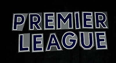 Official Premier League 2018/19 Navy Blue Letter Name For Football Shirts  • 1£