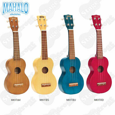AU29.95 • Buy Mahalo Perfect Beginner Soprano Ukulele Kahiko Series.. Includes Carry Bag
