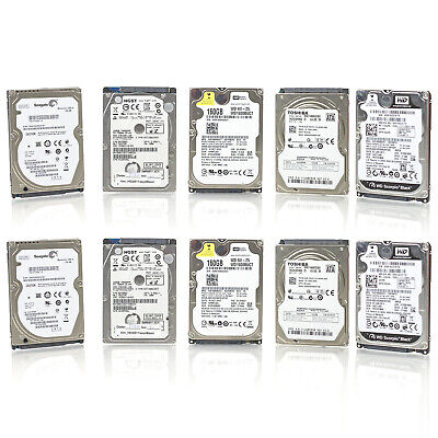 $ CDN77.55 • Buy Lot Of 10 Assorted Brands 2.5  160GB SATA Laptop HDD Hard Drive - Tested & Wiped