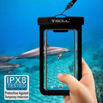 Waterproof Case Underwater Phone Cover Dry Bag Universal Pouch For Smartphones • 4.49£