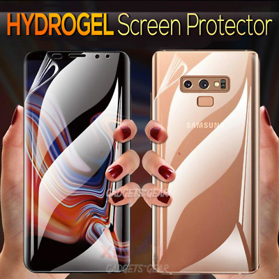 AU4.95 • Buy For Samsung Galaxy S20 S10 S8 S9 Plus Note 8 9 10+ HYDROGEL Screen Protector